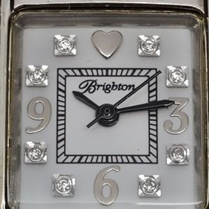 Womens Brighton Branded Stainless Watch.